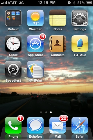 iPhone Screenshot | BeccaBlogs.com