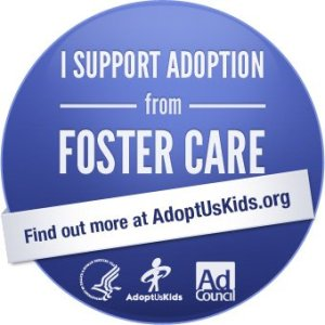 I Support Adoption from Foster Care | BeccaBlogs.com