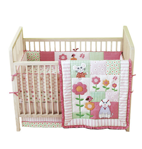 Tiny Tillia Crib Bedding Set | BeccaSells.com